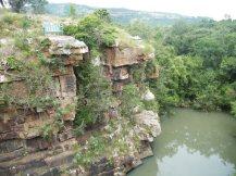 Wasserfall im Nature Reserve Pietermaritzburg